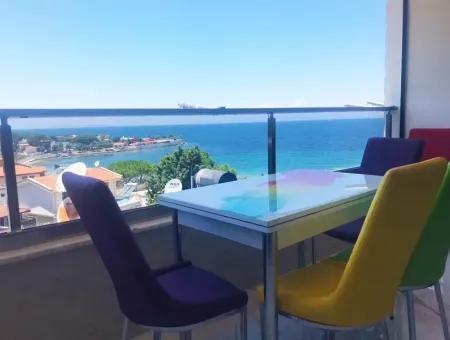 Didim Mavişehir Satılık Deniz Manzaralı Dubleks Daire